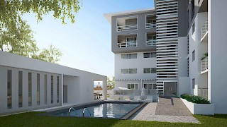 The Niiyo, Dzorwulu | Swimming Pool View | Devtraco Plus Apartments For Sale and Rent | Accra, Ghana