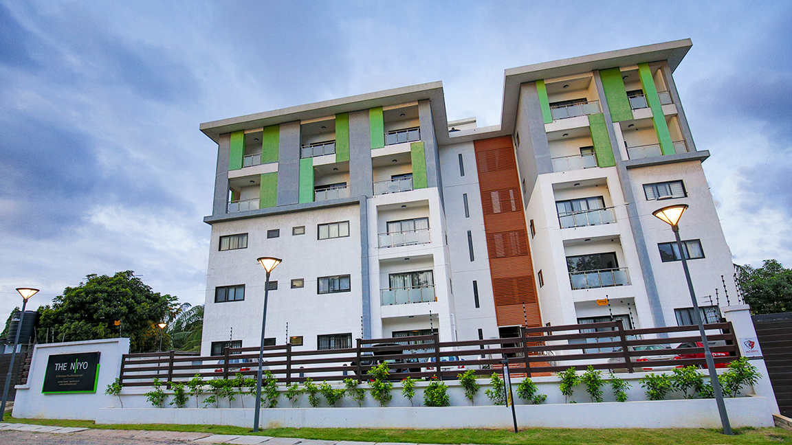 Devtraco Plus Ghana Limited Acasia townhomes day view