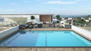 Devtraco Plus Ghana Limited Acasia apartments roof top pool
