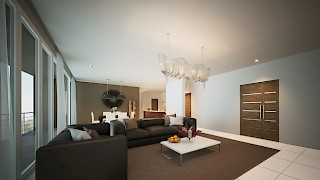 Devtraco Plus Ghana Limited Acasia apartments living area
