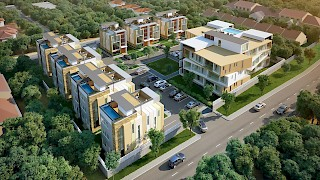 Devtraco Plus Ghana Limited Acasia townhomes and apartments aerial view
