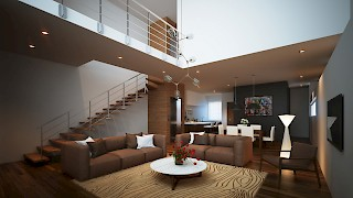 Devtraco Plus Ghana Limited Acasia townhomes interior living area