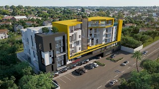 Devtraco Plus Ghana | The Edge bird view | Labone apartment for sale and rent